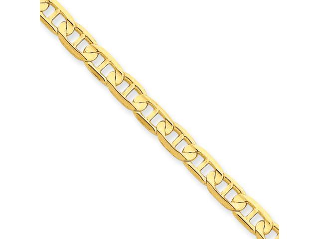 14k 4.5mm Concave Anchor Chain