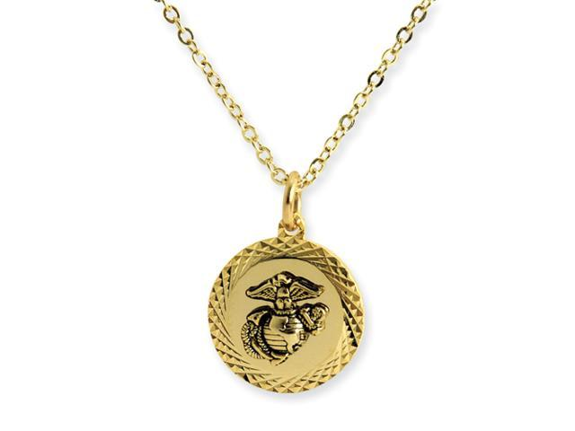 Marines 22k Gold-plated 18