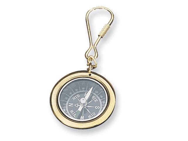 Nautical Compass Key Chain