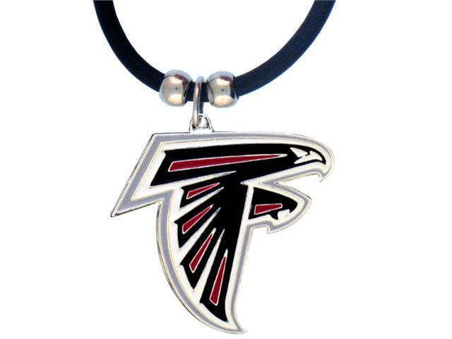 NFL Falcons Enameled Zinc 22in Necklace