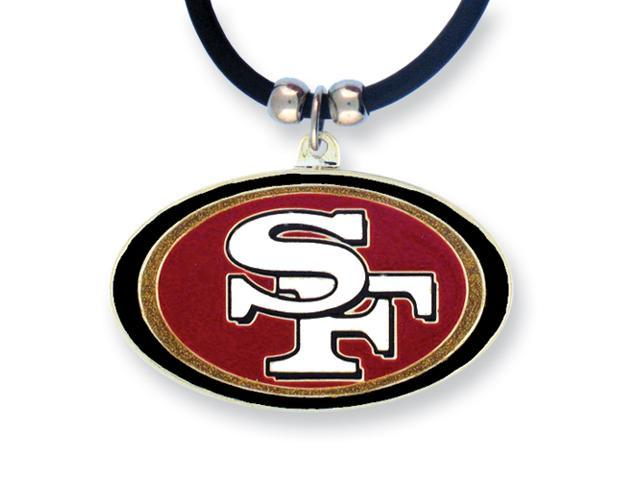 NFL 49ers Enameled Zinc 22in Necklace