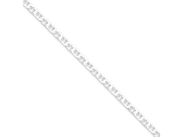 Sterling Silver 3mm Flat Anchor Chain
