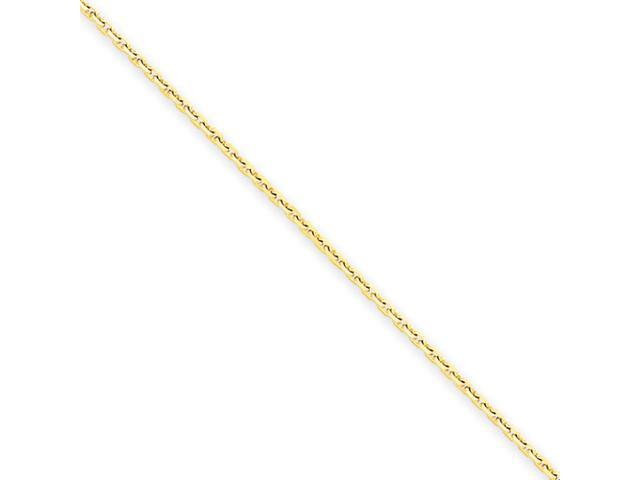 14k 1.3mm Solid D/C Cable Chain