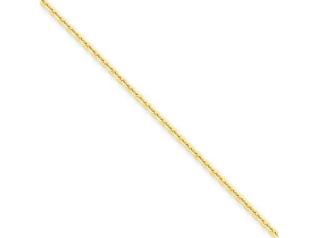 14k 1.65mm Solid D/C Cable Chain