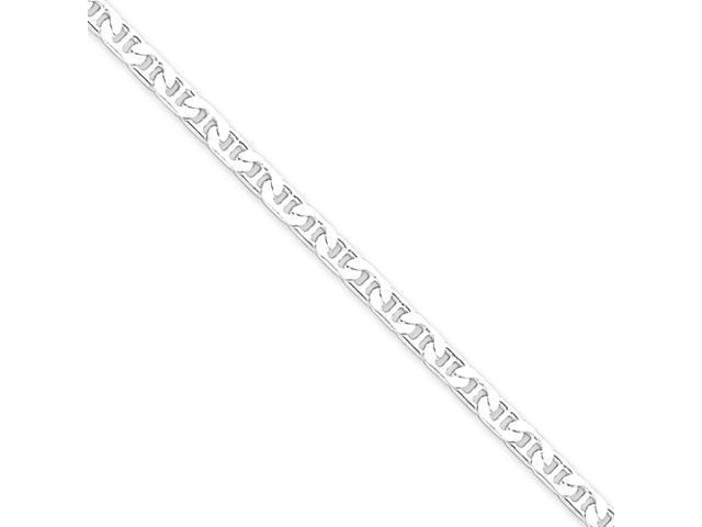 Sterling Silver 3.75mm Flat Anchor Chain