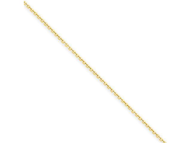14k .65mm D/C Cable Chain