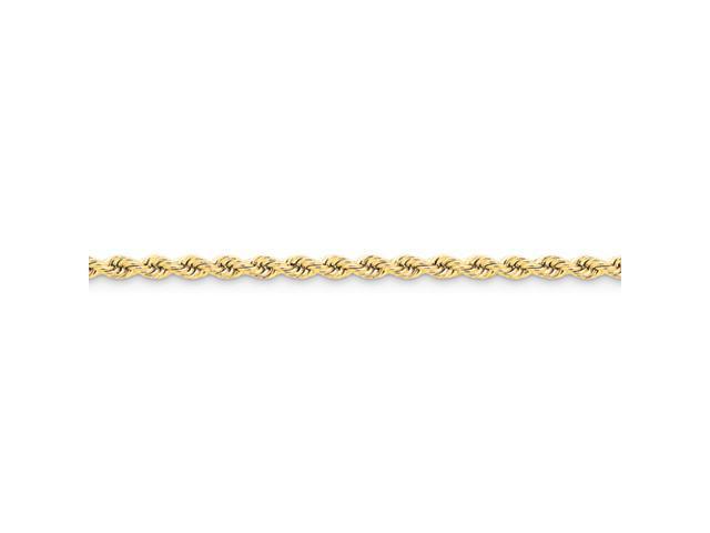 14k 4mm Handmade Regular Rope Chain