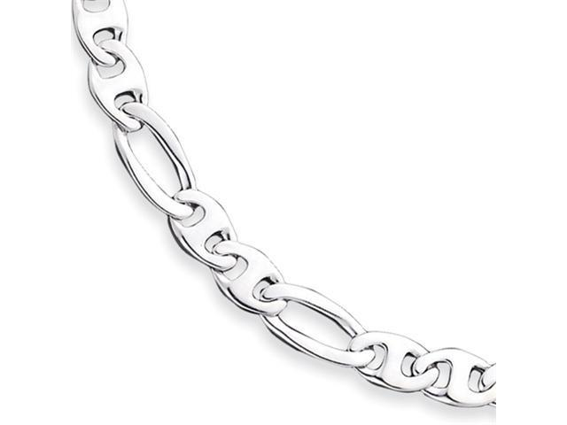 Sterling Silver 9.5mm Fancy Anchor Link Chain