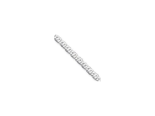 Sterling Silver 5.5mm Fancy Link Toggle Bracelet