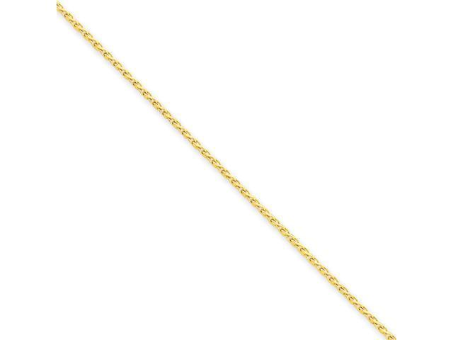 14K 1.5mm D/C Wheat Chain