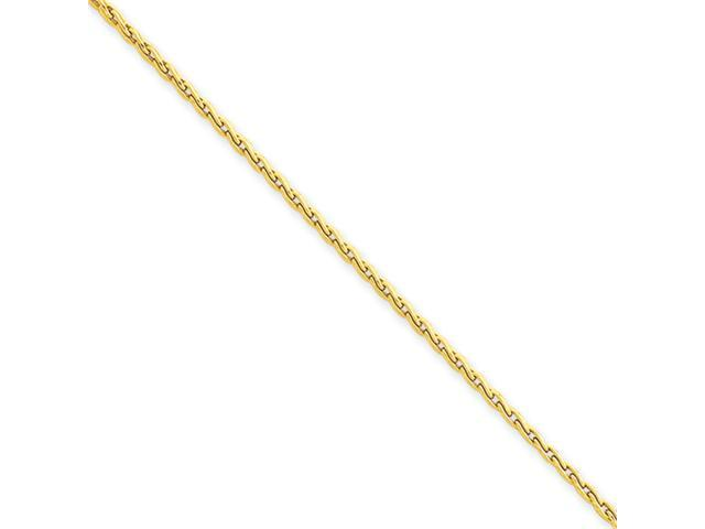 14k 1.75mm Parisian Wheat Chain