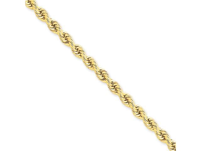 14k 5mm Handmade Regular Rope Chain