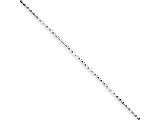 Sterling Silver .6mm Box Chain
