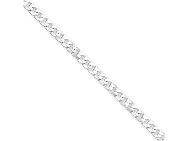 Sterling Silver 4.25mm Curb Chain