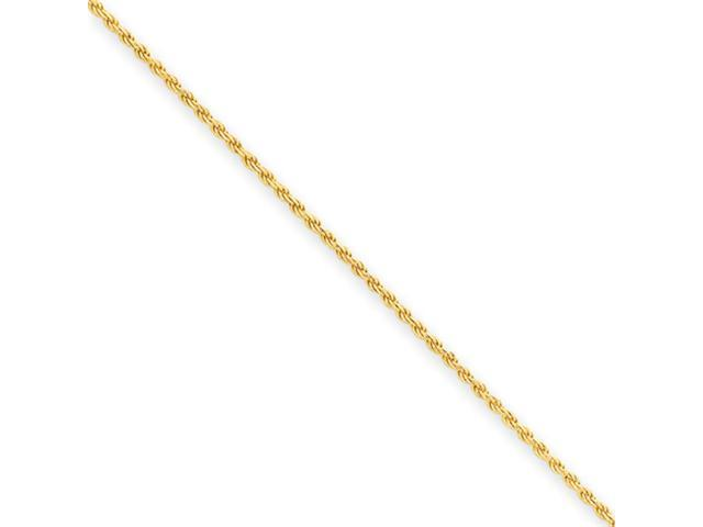 Gold-plated Sterling Silver 1.75mm Diamond-cut Rope Chain