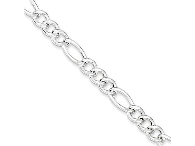 Sterling Silver Figaro Bracelet