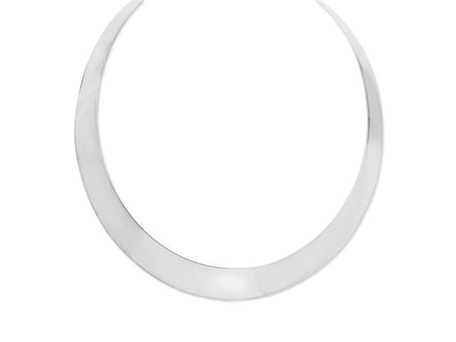 Sterling Silver Neck Bangle