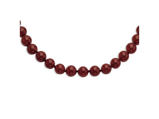 10-10.5mm Carnelian Necklace