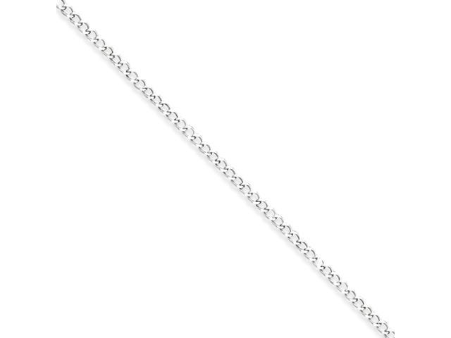 Sterling Silver 2.80mm Wide Curb Chain