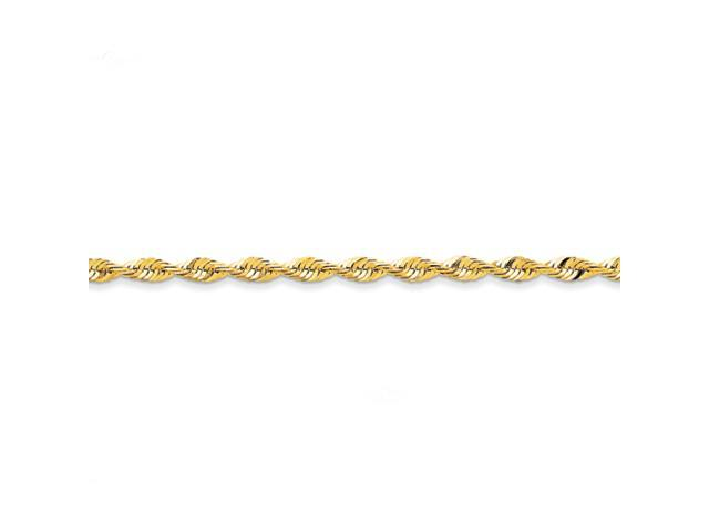 14k 4.16mm D/C Extra-Lite Rope Chain