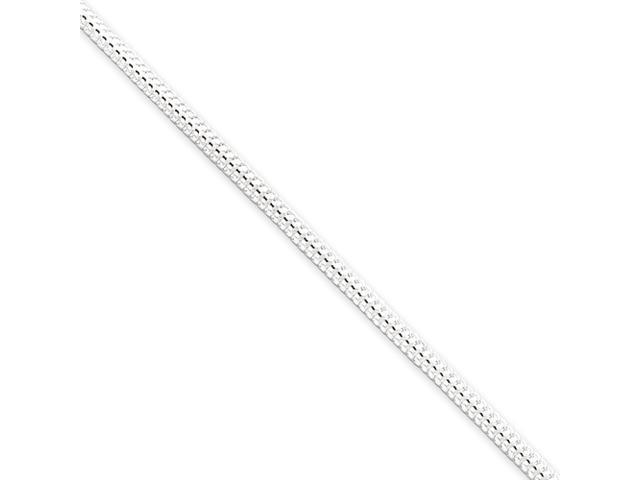 Sterling Silver 2.5mm Round Snake Chain