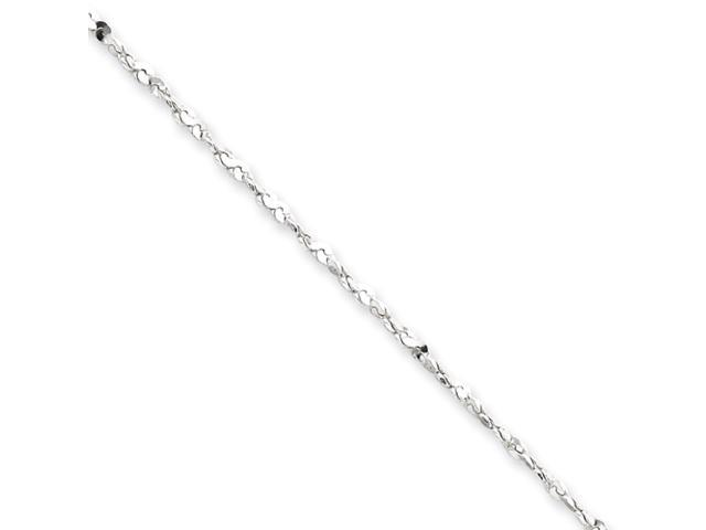 Sterling Silver 1.8mm Diamond Cut Fancy Chain