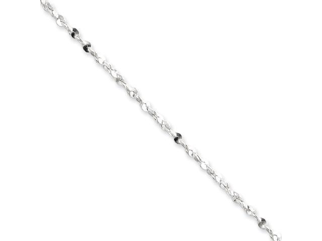 Sterling Silver 2mm Diamond cut Fancy Chain