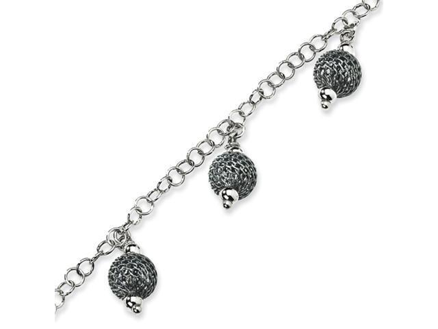 Sterling Silver Fancy Bracelet