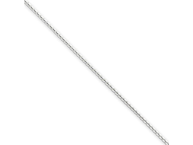 Sterling Silver 1mm Round Franco Chain