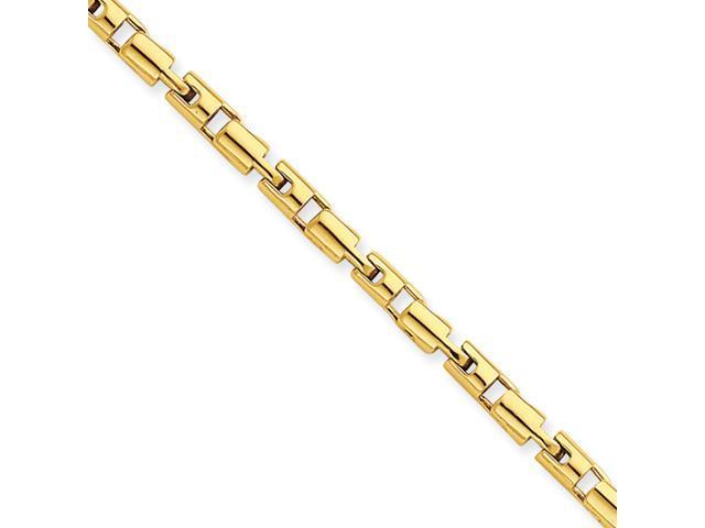 14k 3.4mm Barrel Fancy Bracelet
