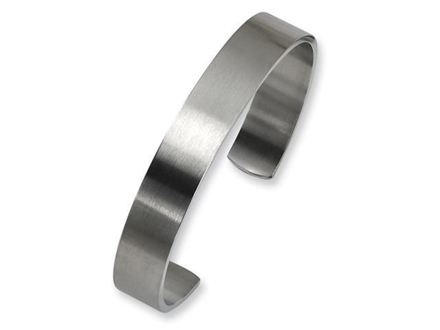 Stainless Steel Brushed Cuff Bangle