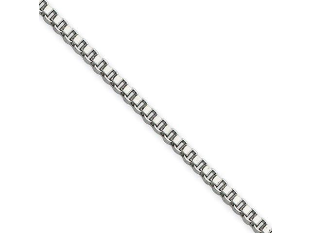 Stainless Steel 2.0mm 20in Box Chain