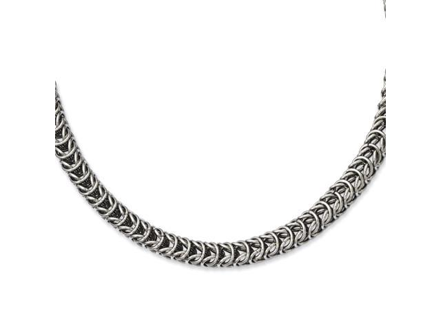 Stainless Steel Fancy 18in Necklace