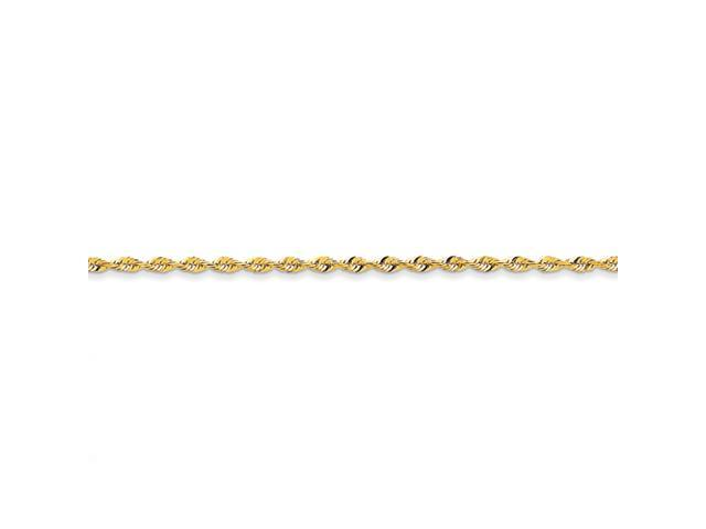 14k 2.82mm D/C Extra-Lite Rope Chain