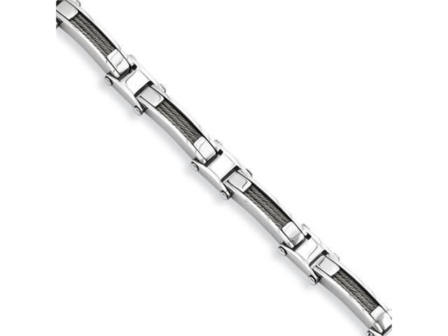 Stainless Steel Wire 8.5in Bracelet
