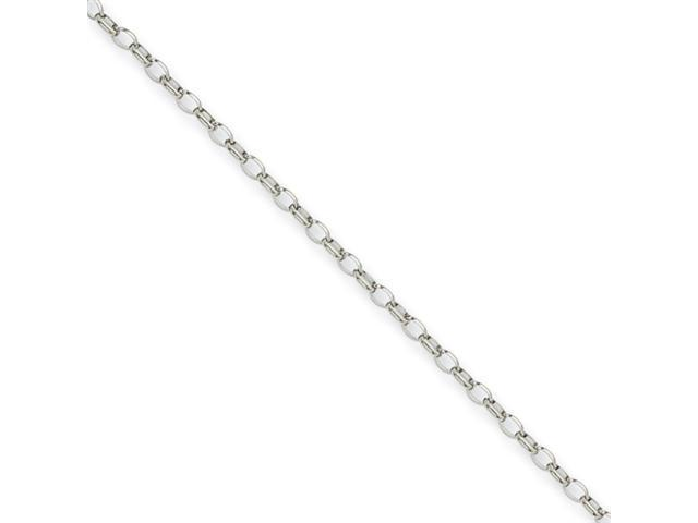 Stainless Steel 3.20mm 18in Pendant Chain