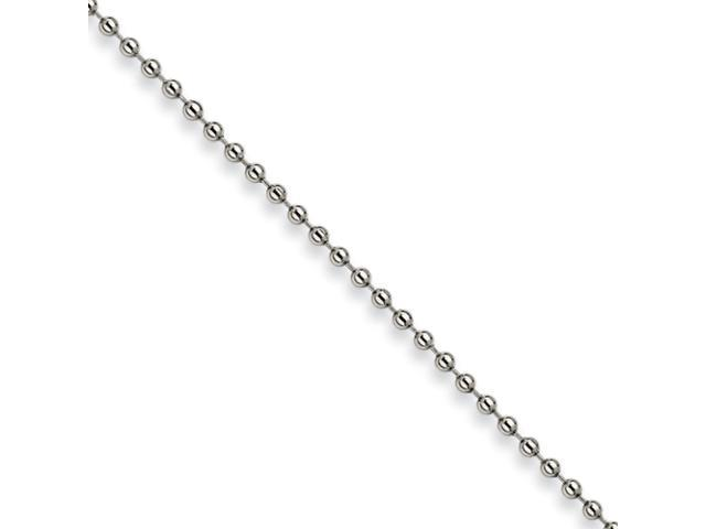 Stainless Steel 3mm Ball Chain