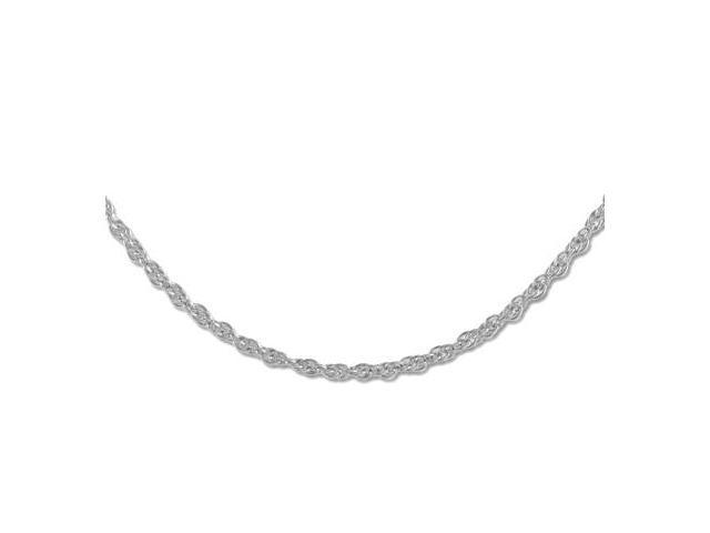 24 Inches 14K White Gold Necklace