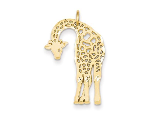 14k Giraffe Charm