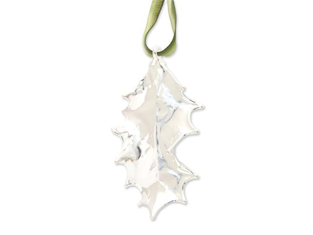 Sterling Silver Dipped Holly Decorative Leaf