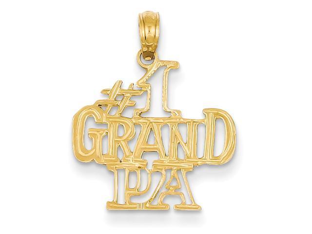 14k #1 Grandpa Pendant