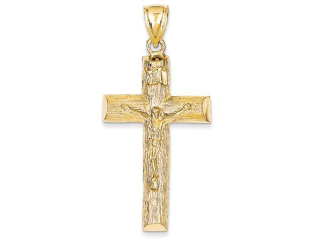 14k Crucifix Charm
