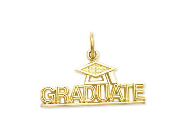 14k Graduate Charm