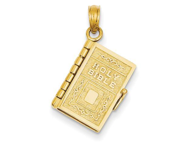 14k Lord's Prayer Bible Pendant