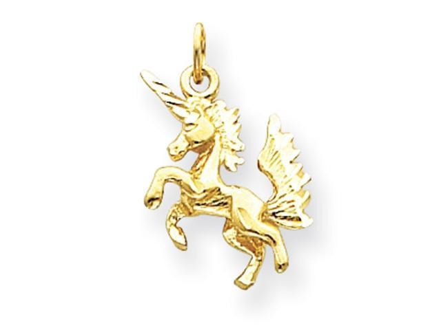 14k Dancing Unicorn Charm
