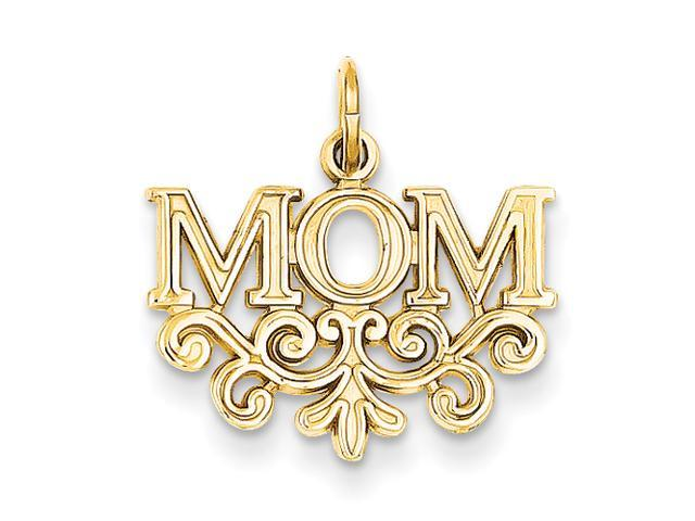 14k Mom Charm