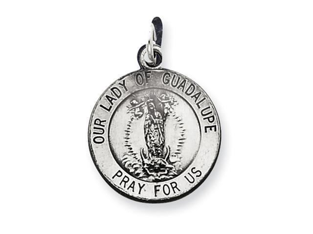Sterling Silver Our Lady of Guadalpue Medal