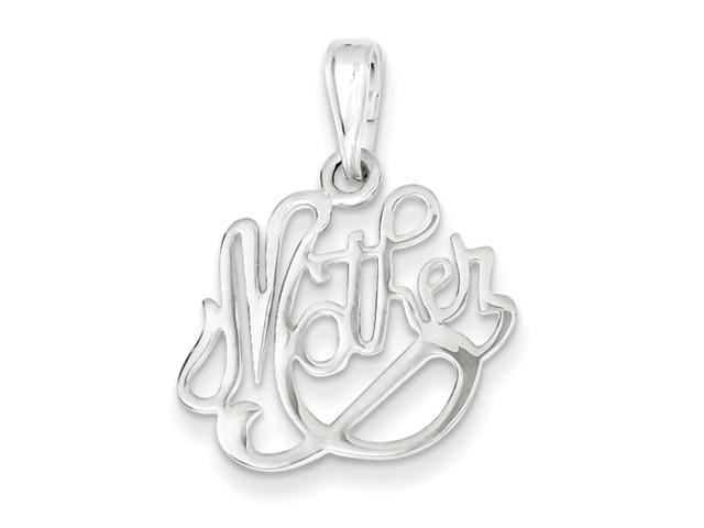 Sterling Silver  Mother Pendant