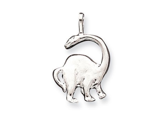 Sterling Silver Brontosaurus Pendant