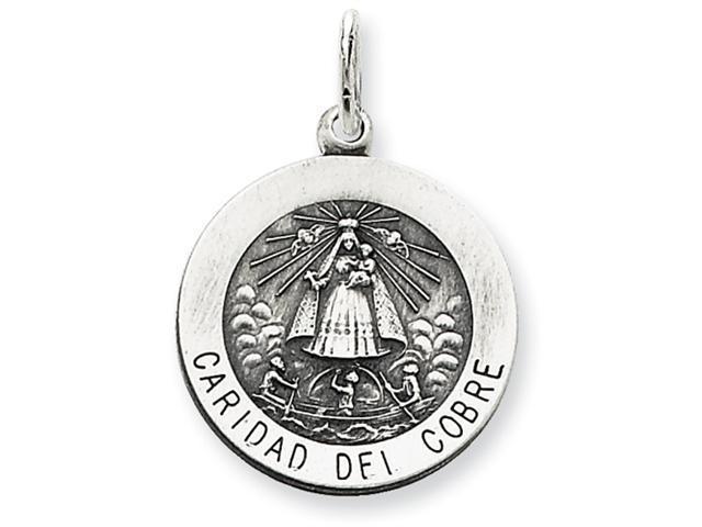 Sterling Silver Caridad del Cobre Medal